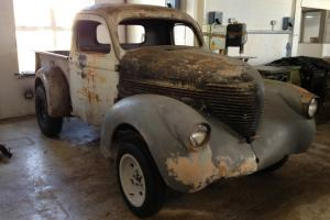 1938 WIllys pickup truck, also 37, 38, 39, 40, 41, 42 hot rod gasser coupe steel Photo