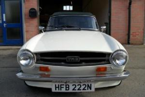1975 TRIUMPH TR6, UK MODEL
