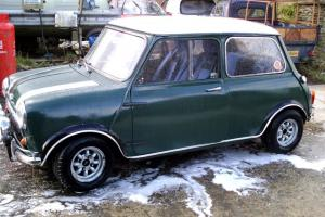 1967 MORRIS MINI COOPER S REPLICA GREEN/WHITE