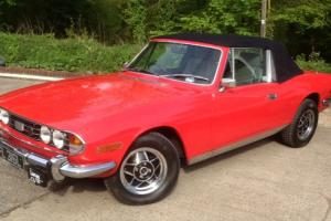 Triumph Stag 3.0 V8 1972 mk1. 4 speed manual with O/D Tax exempt with new MOT