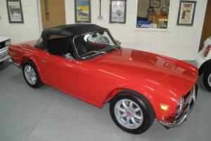 1969 G -Triumph TR6 2.5 Pi - CP Chassis UK Car
