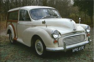 MORRIS MINOR TRAVELLER 1968 WHITE EXCELLENT CONDITION
