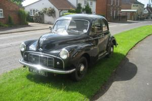 1951 Morris Minor split screen with rare original side valve engine
