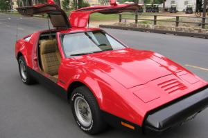 1975 Bricklin SV1,Gullwing,Ford 351 Engine,All Orig,Auto,2,854 made.110 pics,77k
