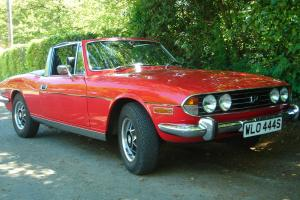 TRIUMPH STAG 3.0L V8. CONVERTABLE. GREAT BRITISH CLASSIC.  Photo