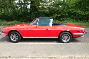 TRIUMPH STAG 1973, HARDTOP  Photo