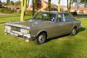 Ford Zodiac Executive 43000 Genuine Miles Exellent 1968