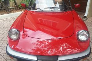 1986 ALFA SPIDER VELOCE OUTSTANDING CONDITION 30900 MILES