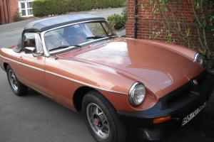 MGB LE ROADSTER  Photo