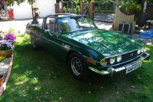 1975 TRIUMPH STAG GREEN  Photo