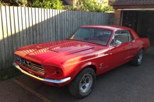 FORD MUSTANG 1967 COUPE - 302 V8