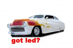 1949 Mercury Coupe Lead Sled Photo