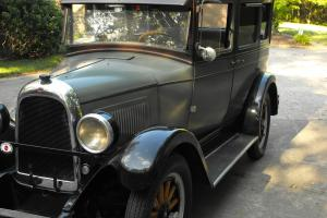 1928 Willys Whippet 96 Touring Sedan 4 Door Photo