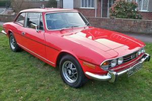 1972 Triumph Stag Standard Car 3000cc Petrol  Photo