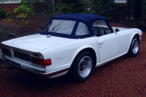 Triumph TR6 Original UK car in fabulous restored condition.  Photo
