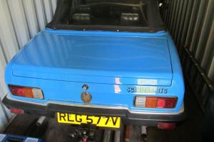 1980 RELIANT SCIMITAR GTC AUTO BLUE