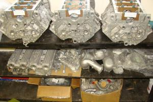 JAGUAR XJ220 ENGINE SPARES HEADS BLOCKS TURBOS WISHBONES XJ 220 TWR 6R4 PARTS  for Sale