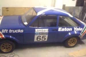 MK 2 Escort RS 2000 GRP 4 RALLY CAR  Photo
