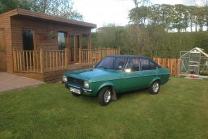 1980 FORD ESCORT GHIA GREEN