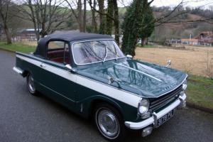 1968 TRIUMPH HERALD 13/60 GREEN/WHITE  Photo