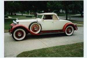 STUTZ 1930 M Convertible Coupe by LeBaron