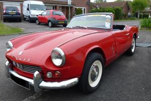 Triumph Spitfire 1963 Signal Red  Photo