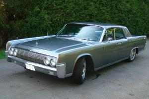 1967 lincoln continental sedan all black 22 rims air ride suspension. Black Bedroom Furniture Sets. Home Design Ideas