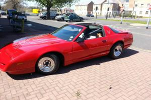 1992 PONTIAC FIREBIRD RED 5.7 V8 NO SWAP NO SWOP