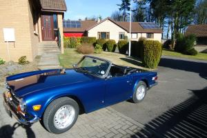 Triumph TR6 (1972) LHD Tax Exempt