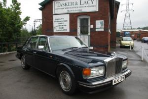 1995 ROLLS ROYCE SILVER SPIRIT III 6.75 Royal Blue Stunning Car
