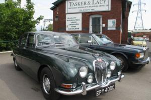 1965 Jaguar S Type 3.4 Stunning Car Opalescent Green