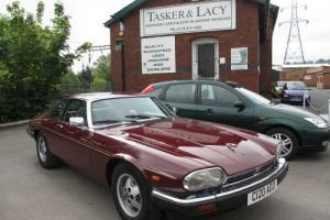 1986 Jaguar XJS 5.3 V12 HE Claret With Doeskin Leather, Immaculate