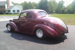 1937 Plymouth Streetrod 1937 Hot Rat Rod All Steel 5 Window Coupe Chevy ZZ4 350