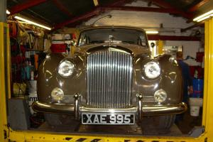 1956 BENTLEY S1 TWO TONE BROWN/SAND TAX MOT 2014