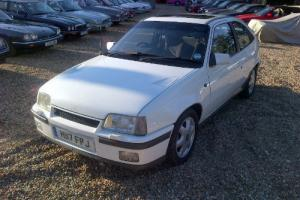 1990 Vauxhall Astra GTE White