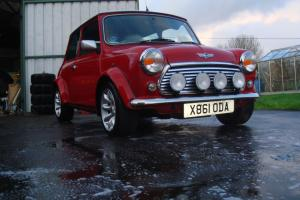 2000 ROVER MINI COOPER SPORT RED