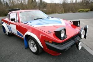 1976 TRIUMPH TR7 RED  Photo