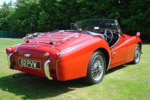 Classic Car Triumph TR3a not MG or Jaguar  Photo