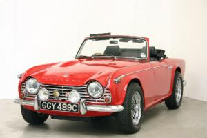 1965 Triumph TR4A O/D - Signal Red - Superb Condition Throughout  Photo