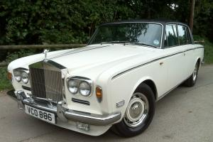 1970 Rolls Royce Silver Shadow 1. TAX EXEMPT, CHROME BUMPERS.