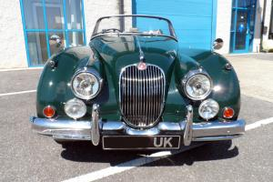 1958 JAGUAR XK150 Drophead Coupe Roadster Convertible  Photo