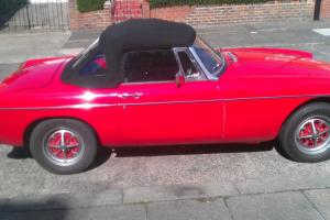 MG Roadster fully restored Lots of History. Classified ad not auction make offer