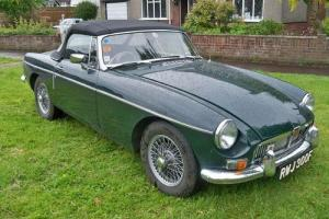 1967 MG/ MGF MGB Sports/Convertible 1800cc Petrol