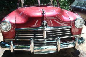 1949 Hudson Commodore Convertible, Rare Classic, Runs Well, Clear Title