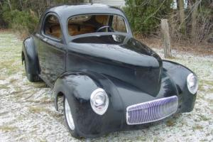 1940-1941  Willys Pro-Street Coupe Stage 3 Rolling Chassis and Body