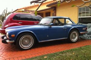 Triumph TR-6 TR6 Convertible 2 Door 1974 Photo