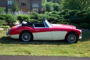 1963 Austin Healey 3000 (BJ7) Photo