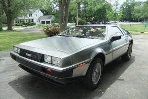 1981 DeLorean - only 444 miles since DMC Texas rebirth, mods w/ Stage II Engine
