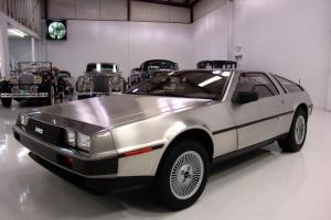 1981 DELOREAN DMC-12, ONLY 24,107 ORIGINAL MILES, DESIRABLE 5-SPEED MANUAL, A/C!