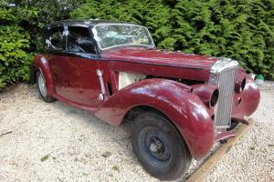 1953 BENTLEY R TYPE BLACK/MAROON